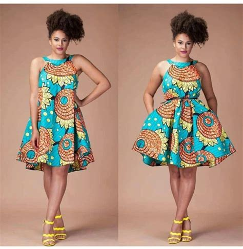 Simple Ankara Dresses Pinterest