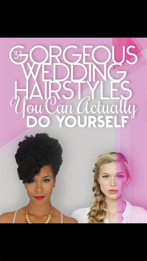 31 gorgeous wedding hairstyles you actually do yourself musely