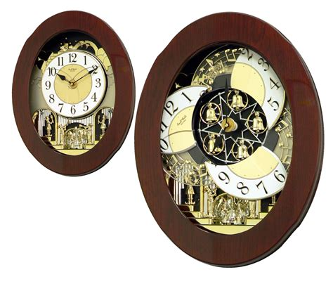 clockway rhythm deluxe  melodies musical motion wall