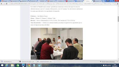curso cocina gratis madrid cursos de cocina gratis madrid y sus cosas