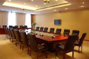 Big Meeting Table Interior Designs Adorable Theme Office Meeting Room Interior Design With Luxury Brown Wood