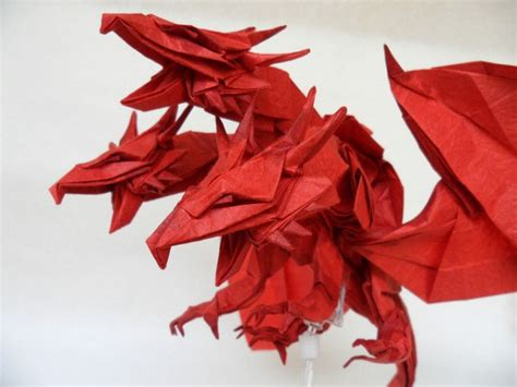 Origami Naga - 10 more amazing origami dragons epic fail