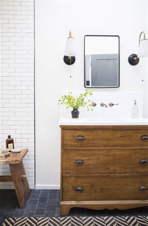 bathroom vanity tile ideas 7 inspiring bathrooms the inspired room