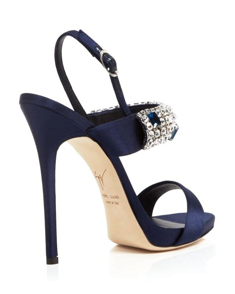 blue high sandals navy blue strappy high heels is heel