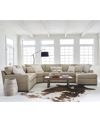 radley sectional radley fabric sectional sofa collection created for macy