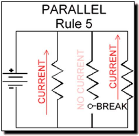 parallel circuits power electrical electronic series circuits