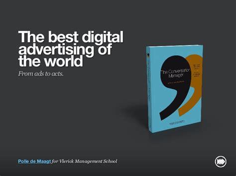best digital advertising quot the best digital advertising in the world quot for vlerick