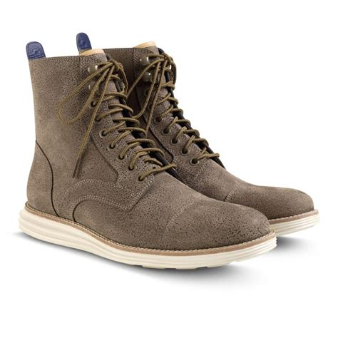 Sepatu Cole Haan lunargrand lace boot footwear for be