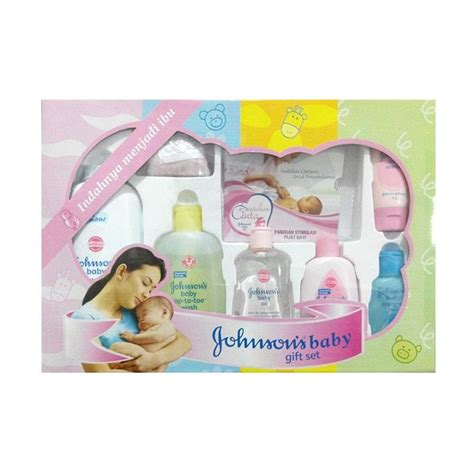 Johnson Cologne Brisa 100 Ml jual johnson s baby gift pack box harga