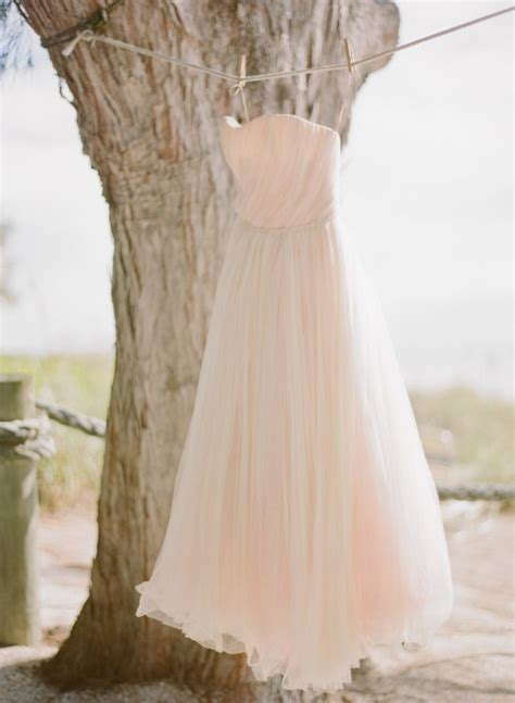 lace peach pink romantic shabby chic strapless wedding dresses nautical boho beach