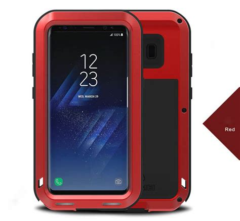 Hardcase Armor Bumper Mei Powerful Cover Casing Samsung Galaxy A7 Mei Powerful Samsung Galaxy S8 Plus Protective