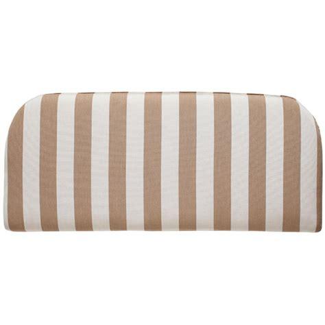 sunbrella outdoor bench cushions home decorators collection sunbrella heather beige outdoor bench cushion 1573810810