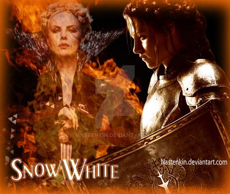 Snow White The Huntsman By snow white ans the huntsman by nastenkin on deviantart