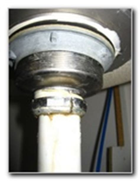 Kitchen Sink Leaking Underneath by How To Fix A Leaking Sink Drain 1 5 Quot Metal Collar Nut