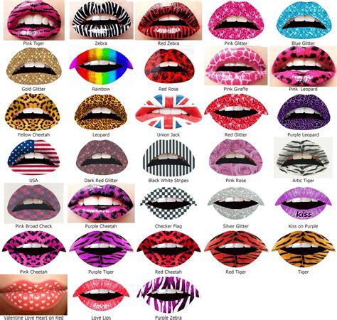 tattoo lips stickers 2 lip sticker temporary tattoo transfers celebrity party