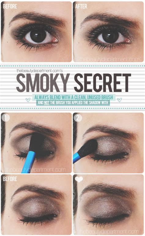 eyeliner tutorial brush the beauty department your daily dose of pretty