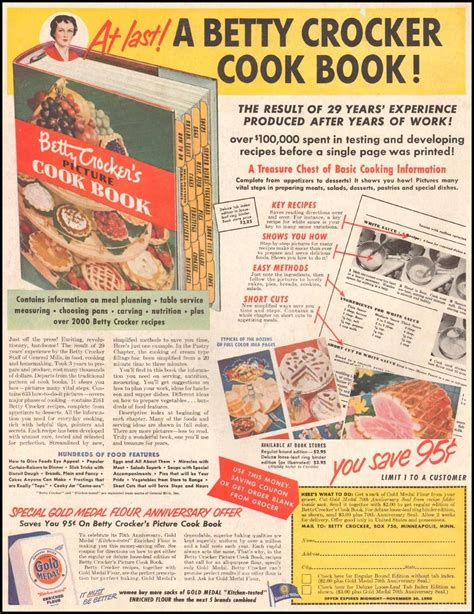betty crocker 1950 picture cookbook bettys attic the gallery of graphic design
