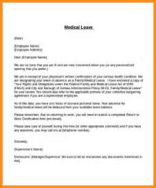 Formal Letter Sle For Unpaid Leave 8 Unpaid Leave Letter Sle Parts Of Resume