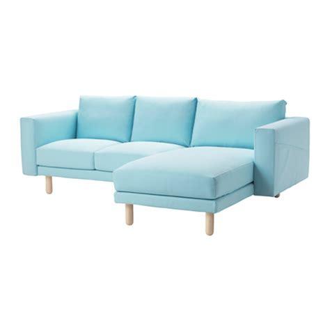 norsborg ikea norsborg sectional 3 seat edum light blue birch ikea