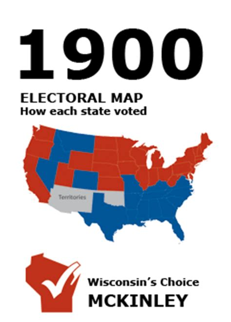 1900 election wi results | presidential elections