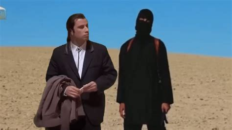 Meme John Travolta - john travolta alias vincent vega z obl 237 ben 233 ho filmu pulp