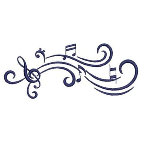free design music music notes embroidery designs machine embroidery designs