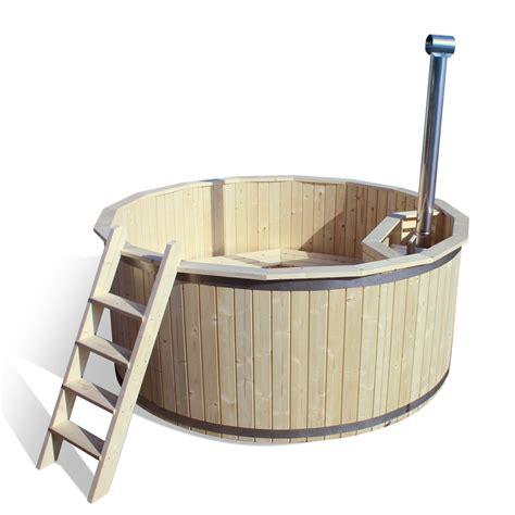 wooden barrel bathtub wooden hot tub outdoor bath barrel jacuzzi garden swimming pool 190 cm diameter ebay