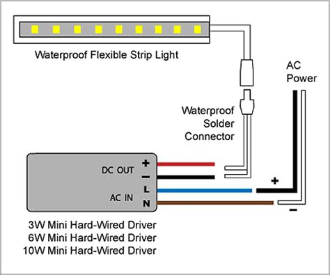 diagrams led driver wiring diagram diy led wiring