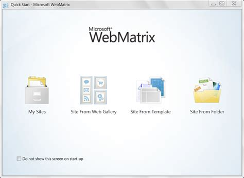 webmatrix tutorial download microsoft webmatrix create customize and