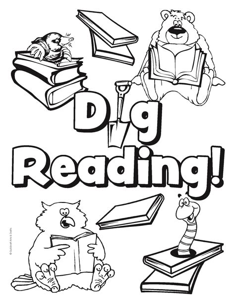 library coloring pages grig3 org