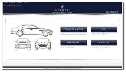 maserati quattroporte service manual free download