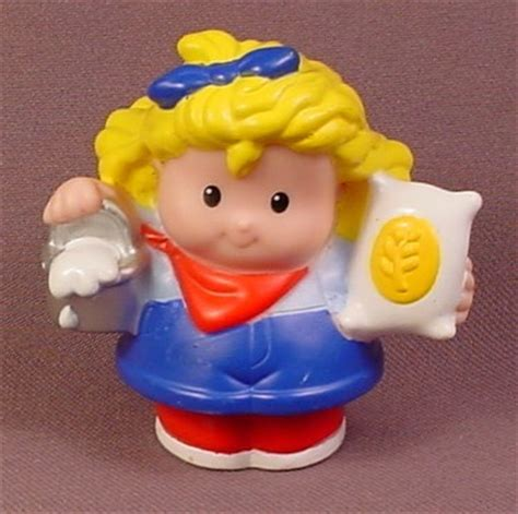 fisher price little people 2007 sarah lynn with pail of