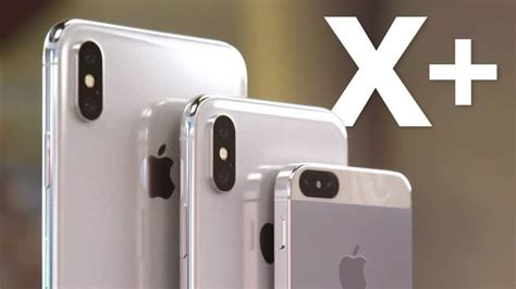 1 Iphone X Plus by Render Imagines What Iphone X Plus And Iphone X Se Might