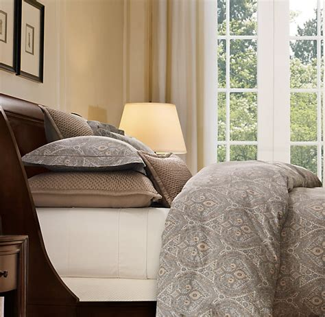 restoration hardware bedding italian cypress paisley bedding collection bed linens