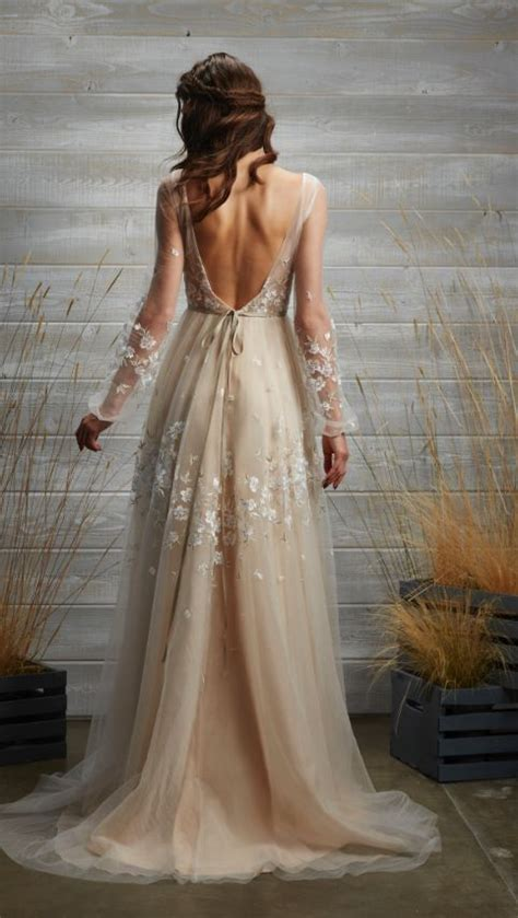 chagne colored bridesmaid dresses wedding dresses in beige color image wedding dress