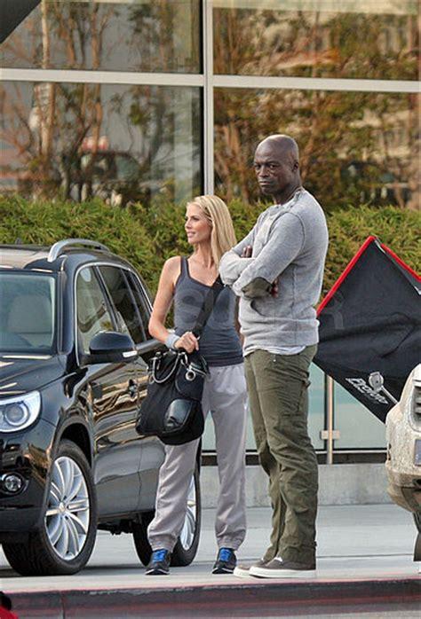 Heidi Klum And Seal In Germany Promoting Volkswagen Get Heidis Look by Vw Tiguan Advertised By Seal And Heidi Klum The German