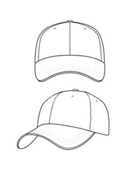 hat template baseball cap and guide by randychen deviantart on