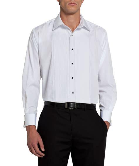 Tuxedo Shirt heusen classic white tuxedo shirt mens shirt