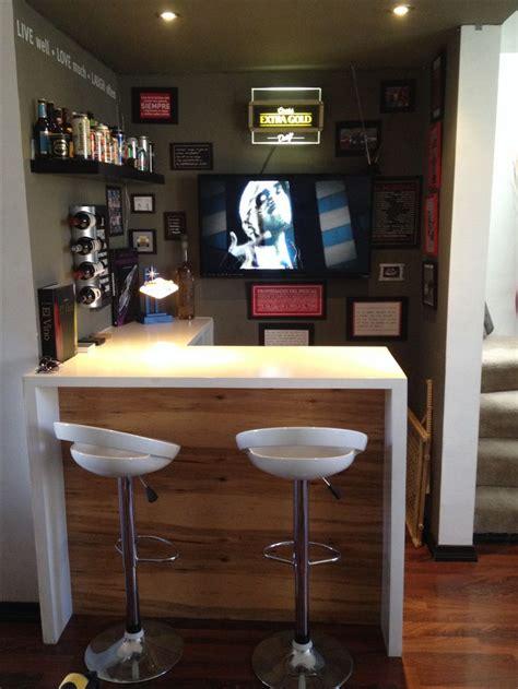 barra de bar en casa las 25 mejores ideas sobre bar casa en y m 225 s