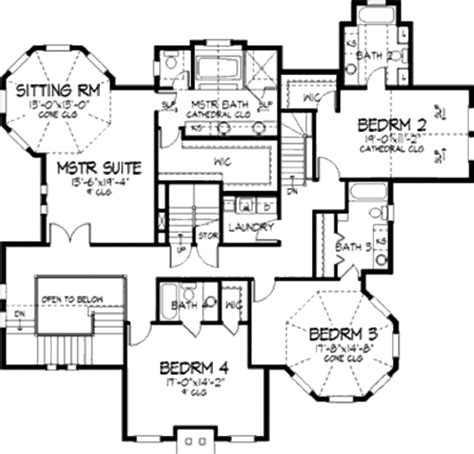 victorian style floor plans victorian style house plan 4 beds 5 00 baths 4161 sq ft