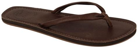 Quicksilver Brazil Darkbrown Reef Leather Sandal Brown For Sale At
