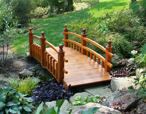 landscaping bridge japanese garden bridge design architecture interior design