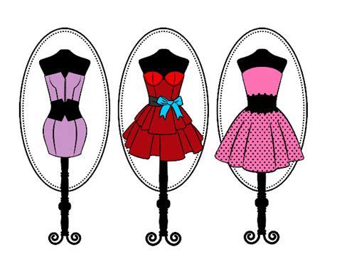 imagenes de vestidos faciles para dibujar dibujo de maniqu 237 es pintado por natalia9 en dibujos net el
