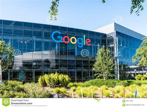 google office california googleplex google headquarters in california editorial photography image of america