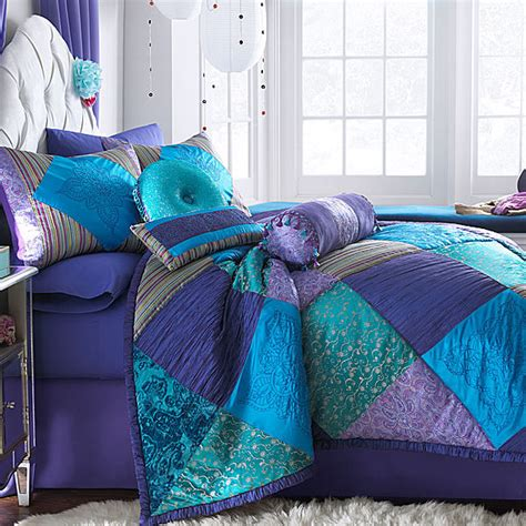 jcpenney bed skirts jcpenney seventeen crystal violet bedskirt shopstyle