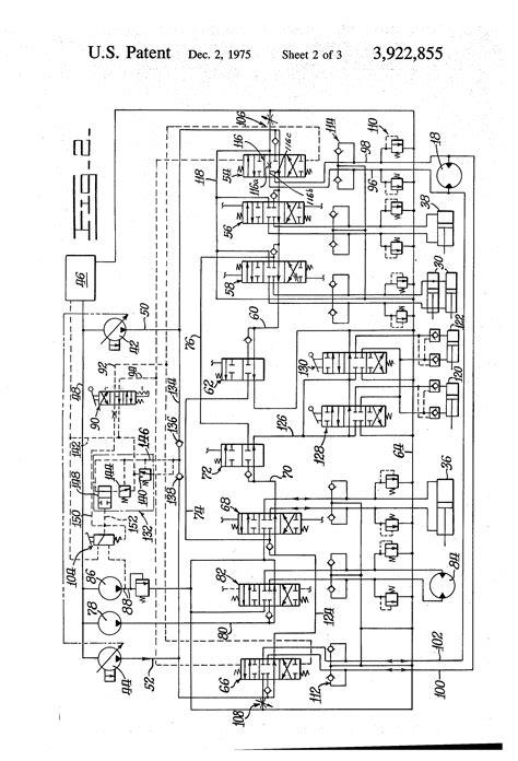hydraulic diagram excavator hydraulic diagram hydraulic diagram