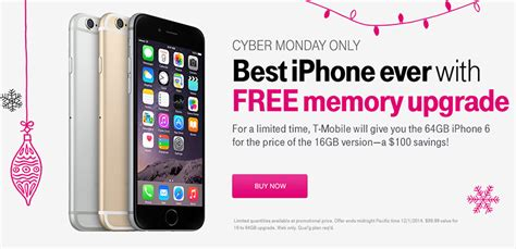cyber monday deal  mobile offering  memory upgrades