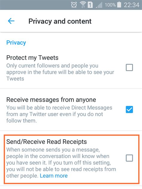 read receipts for android here s how to disable s new dm read receipts