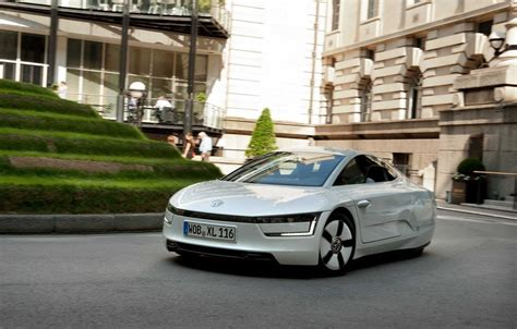 Burdick Volkswagen by Vw S 313 Mpg Xl1 Takes To The Streets Of