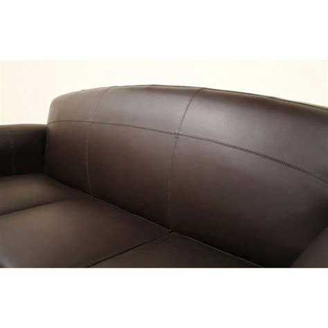 sally sofa sally brown leather modern sofa dcg stores